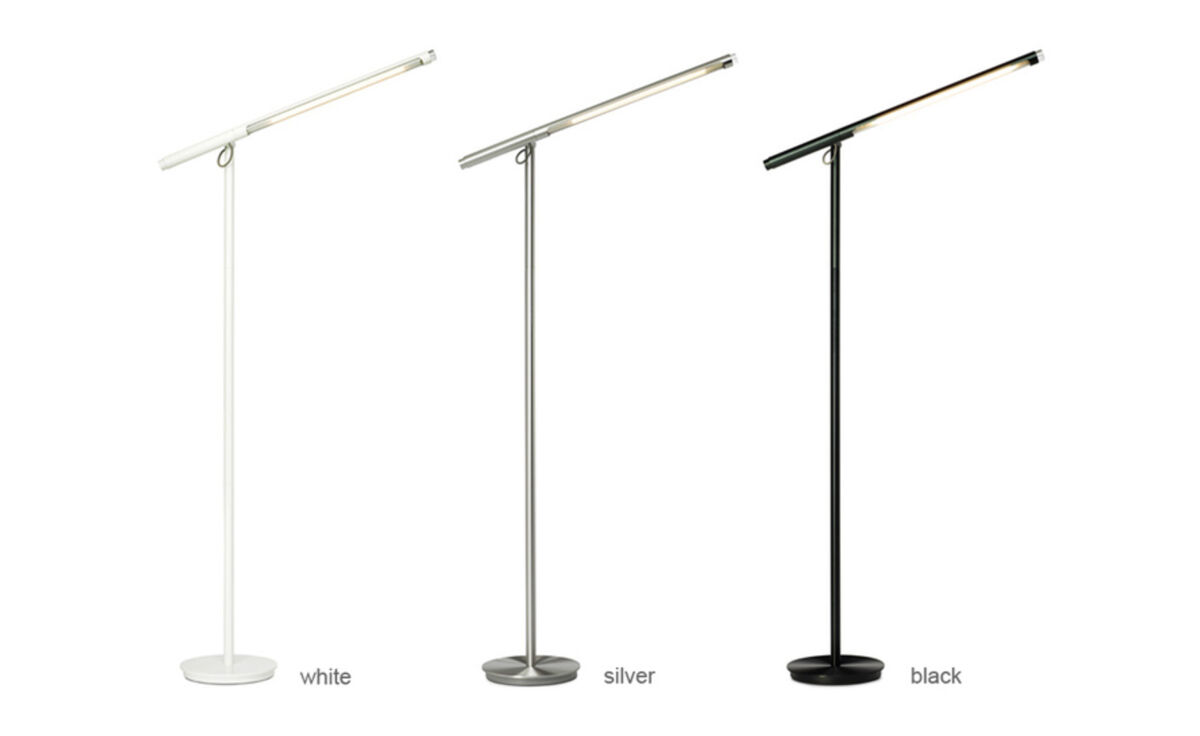 Brazo led floor lamp hivemodern brazo led floor lamp aloadofball Gallery