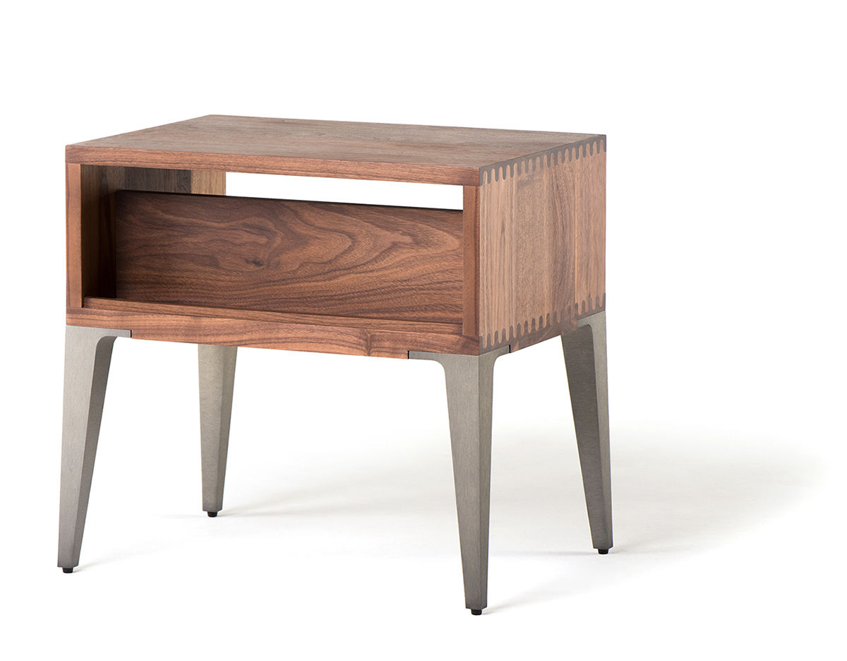 Bretton Bedside Table 397 Hivemodern Com