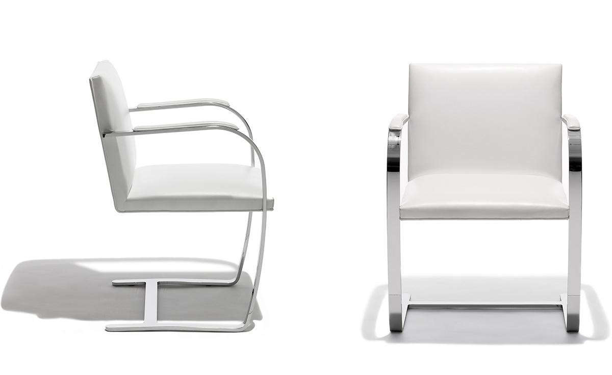 Brno Chair With Flat Bar Frame Hivemodern Com