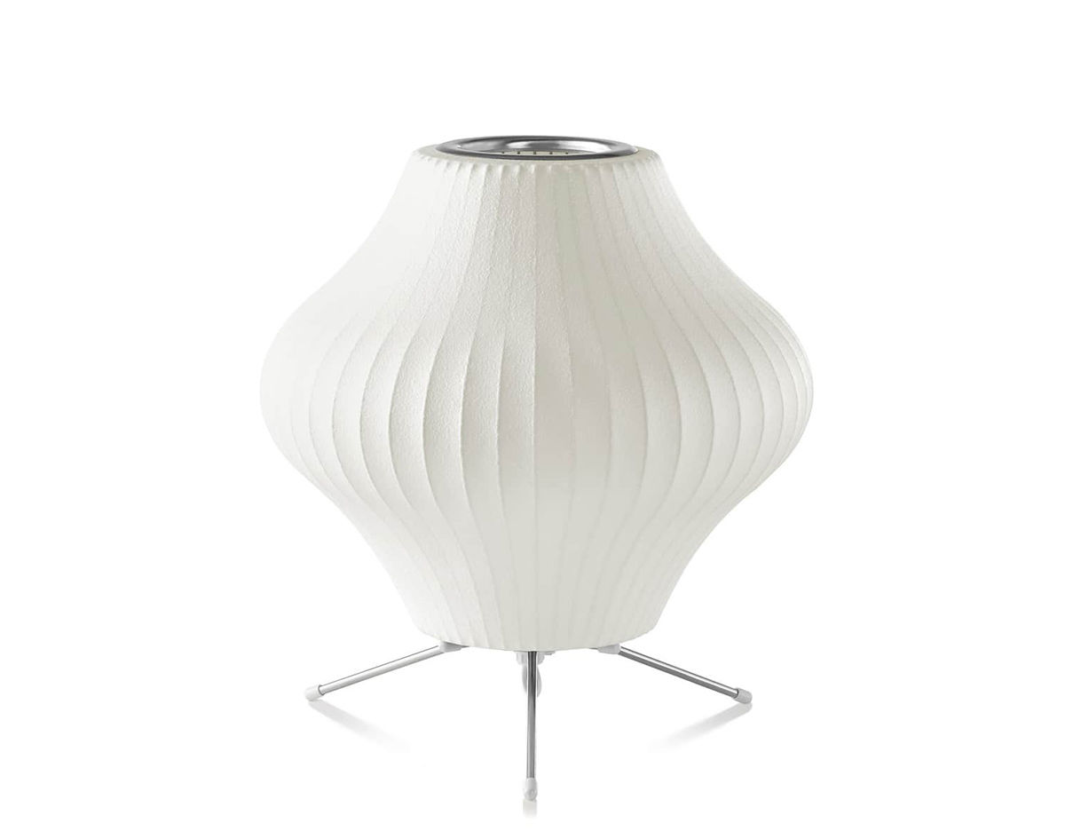 lighting george more cigar views ceiling lamp white lamps nelson bubble criss cross crisscross