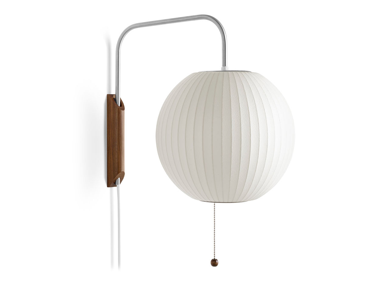 Nelson bubble lamp wall sconce ball hivemodern nelson bubble lamp wall sconce ball aloadofball Image collections