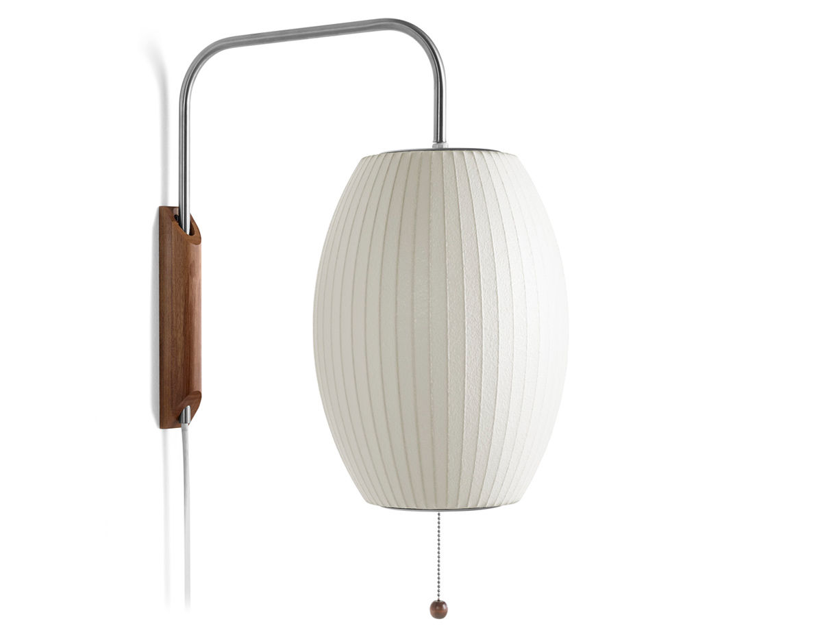 Nelson Bubble Lamp Wall Sconce Cigar Hivemodern Com