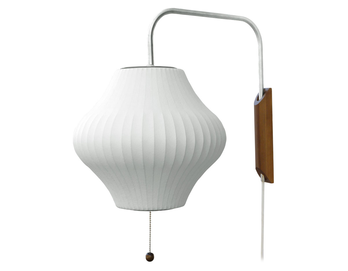 Nelson Bubble Lamp Wall Sconce Pear Hivemodern Com