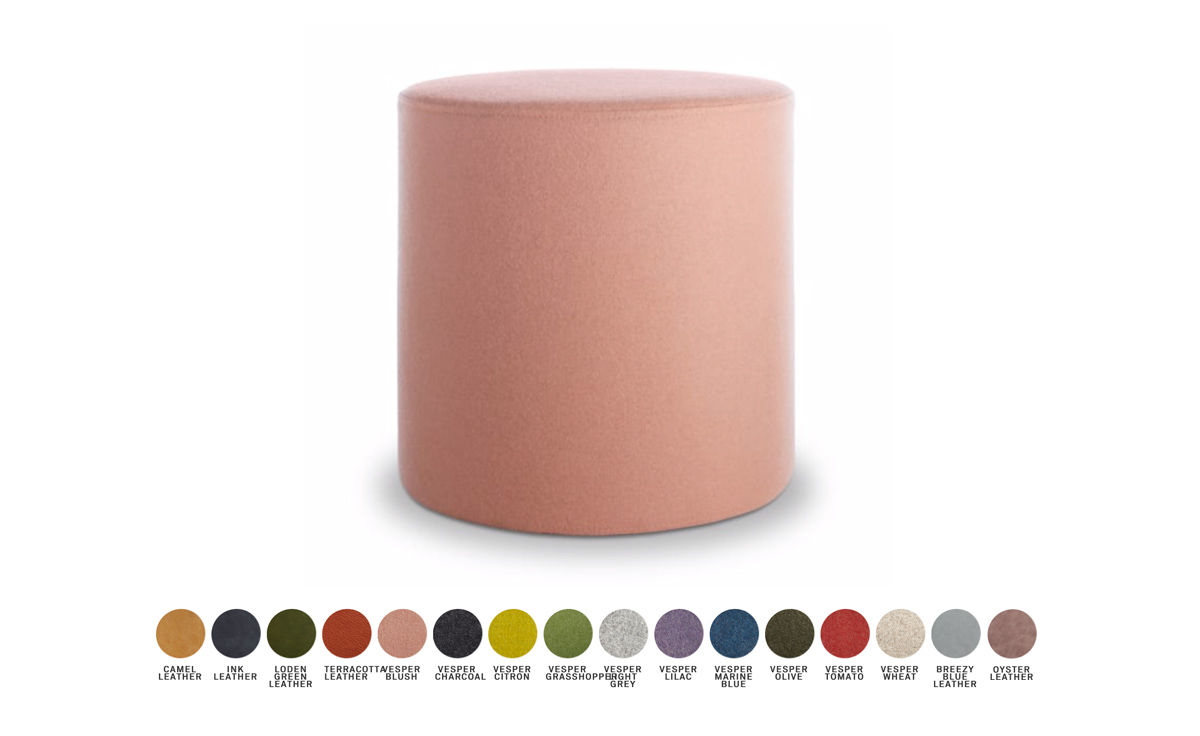 bumper small ottoman  hivemoderncom - overview manufacturer media reviews