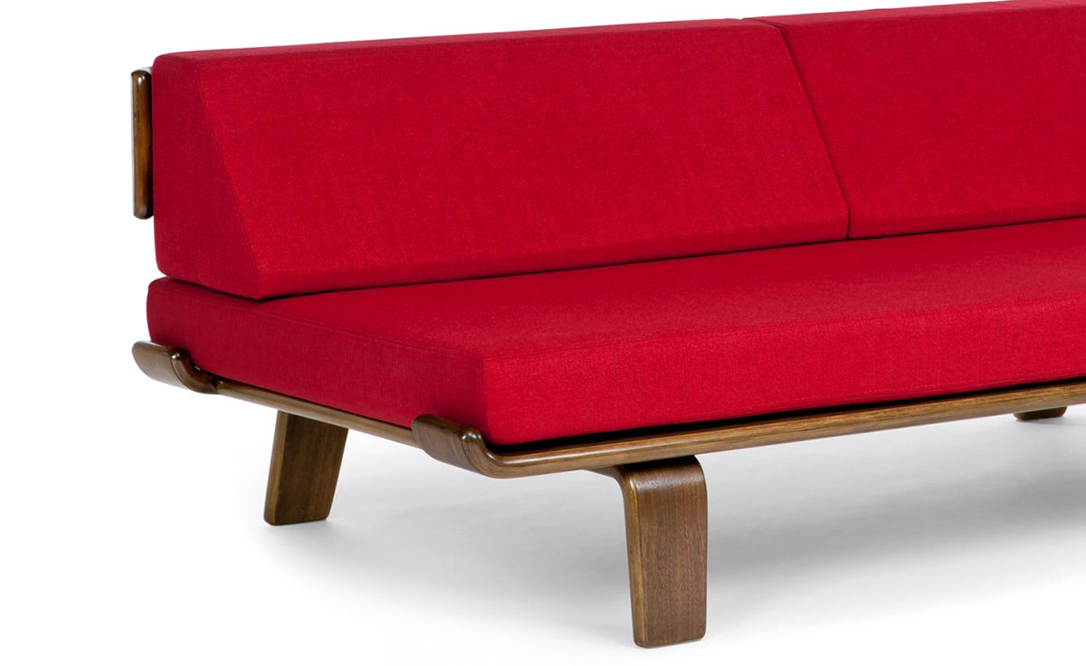 via Lori Andrews Interiors   Modernica Case Study V leg Daybed   http