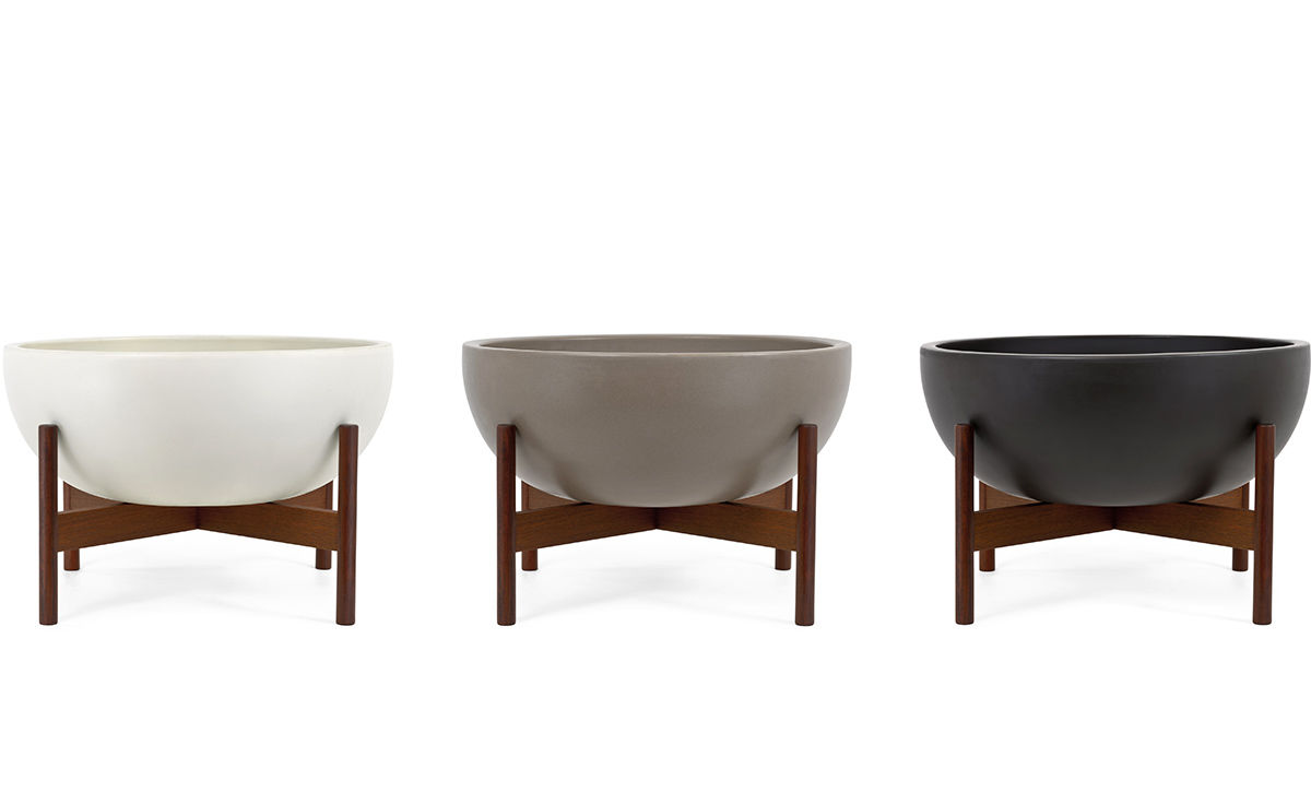 Brand new Case Study® Bowl With Wood Stand - hivemodern.com ED02