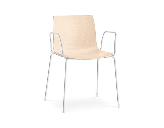 catifa 46 four leg wood armchair. Black Bedroom Furniture Sets. Home Design Ideas