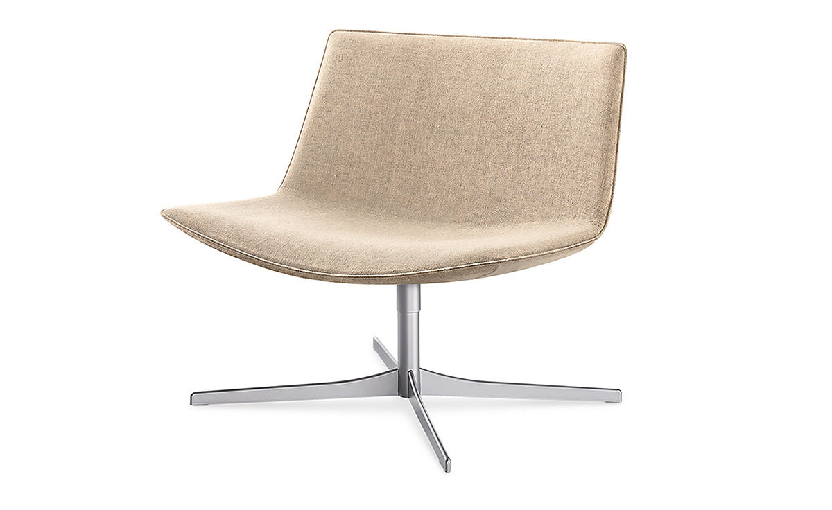Catifa 80 Lounge Chair With Pedestal Base