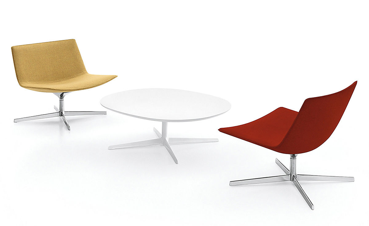 Catifa 80 Lounge Chair With Pedestal Base Hivemodern Com