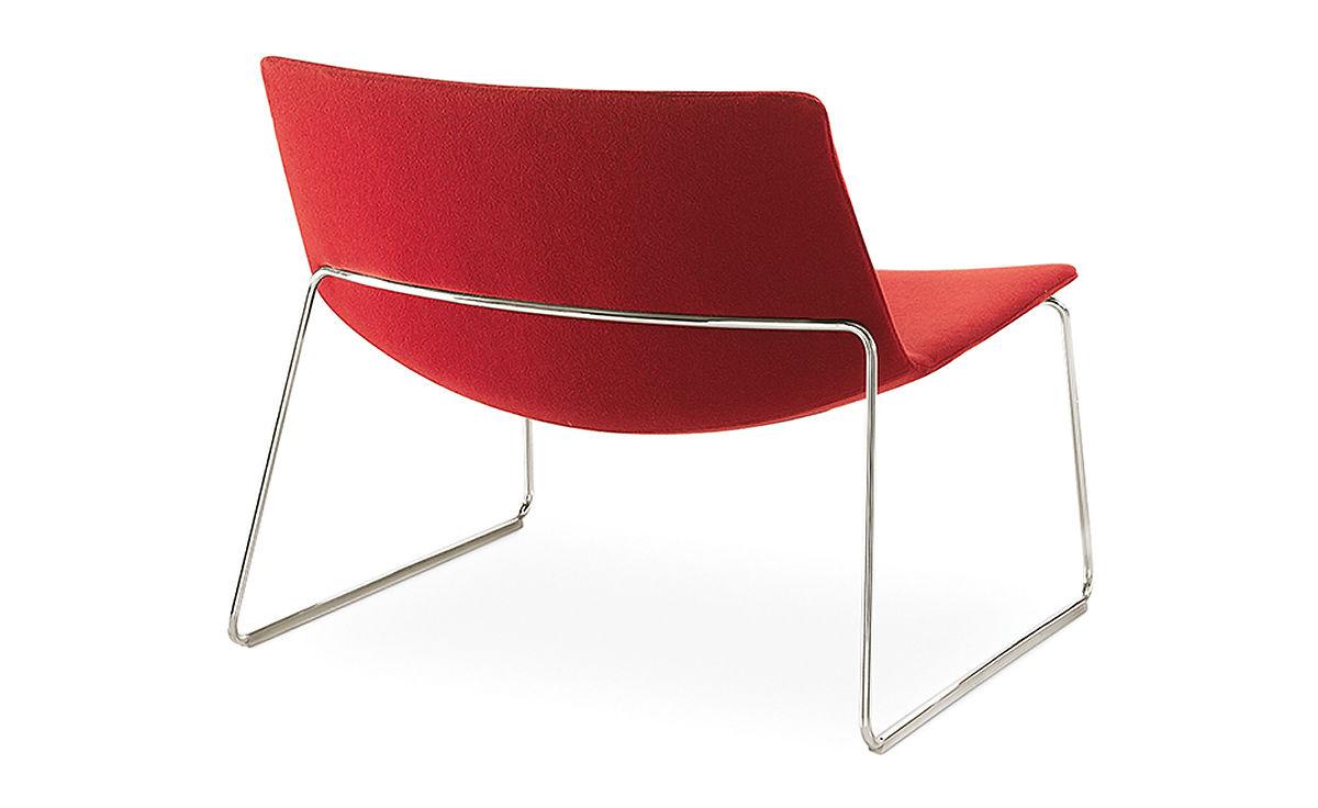 Best Catifa 80 Lounge Chair With Sled Base - hivemodern.com HU83