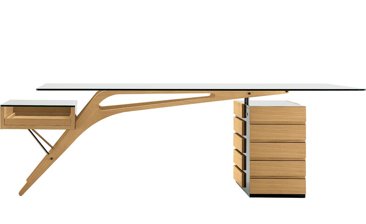 Carlo Mollino Cavour Desk hivemoderncom : cavour desk carlo mollino zanotta 1 from hivemodern.com size 1200 x 736 jpeg 126kB