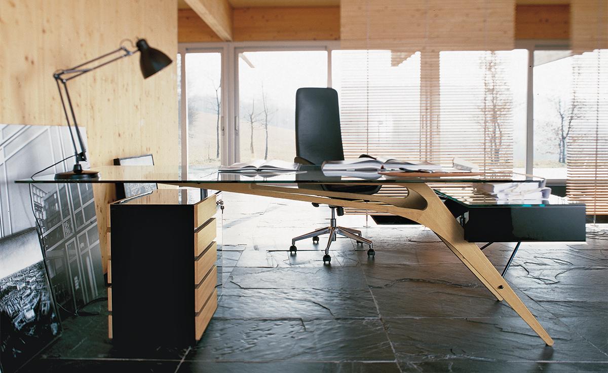 Carlo Mollino Cavour Desk Hivemodern Com