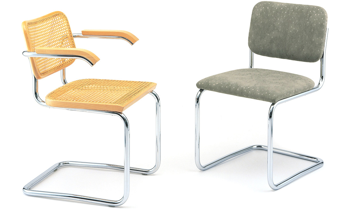 Cesca Chair Upholstered Hivemodern Com