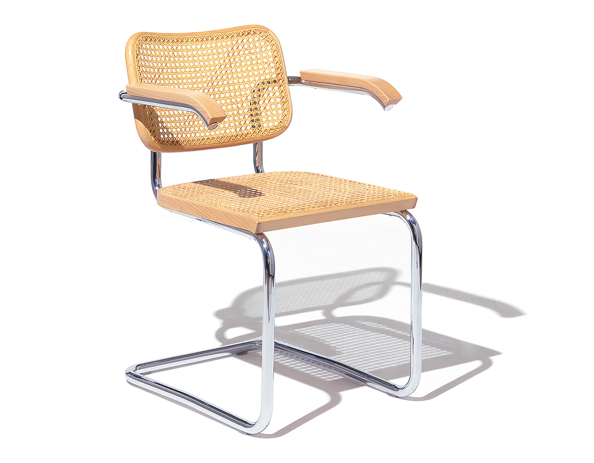cesca chair with cane seat  hivemoderncom - overview