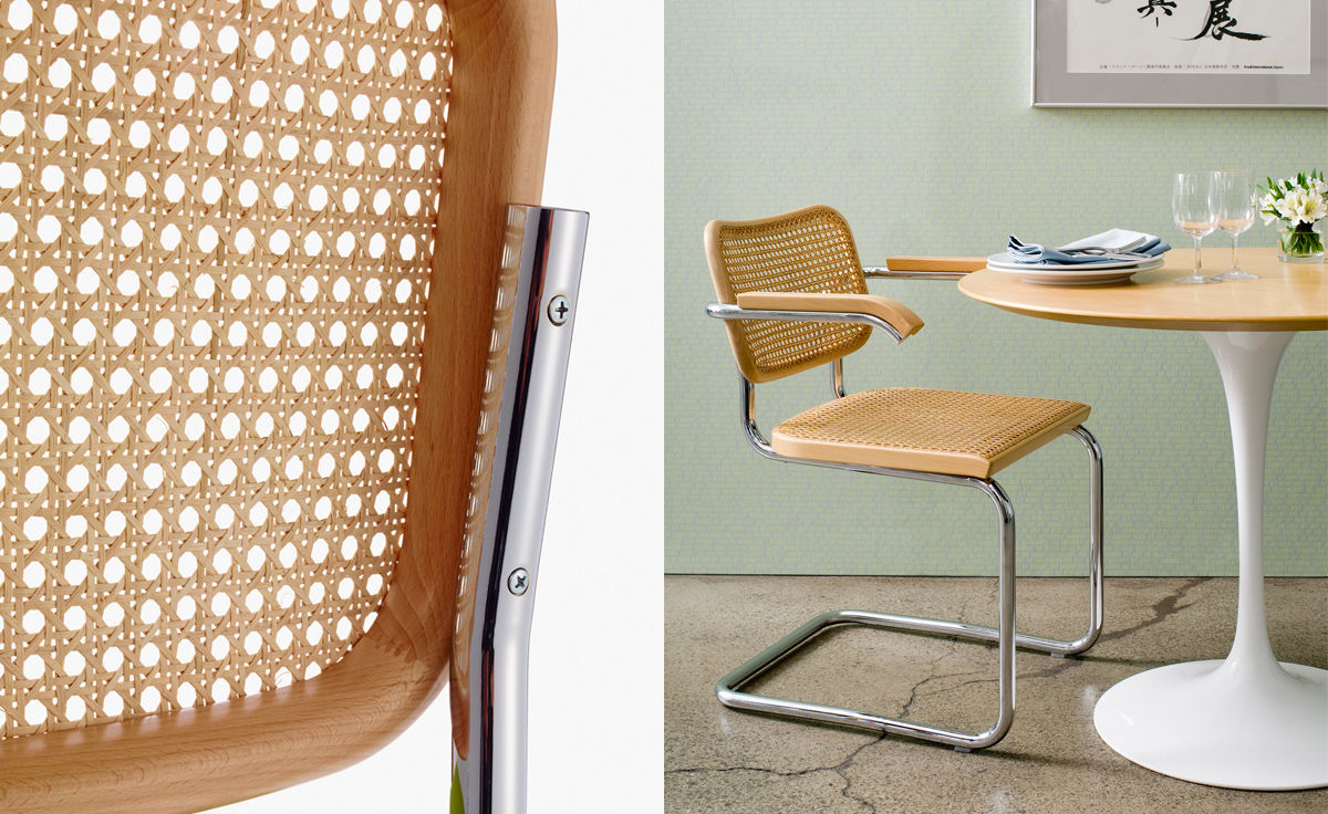 Cesca Chair With Cane Seat And Back Hivemodern Com