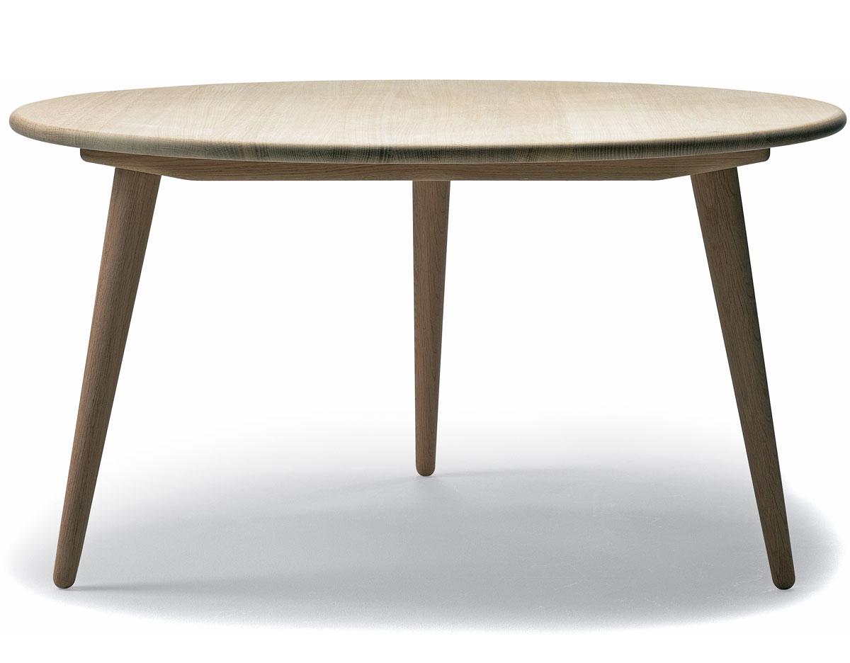 Teak folding table 200f hivemodern com - Ch008 Low Table Hans Wegner Carl Hansen Son