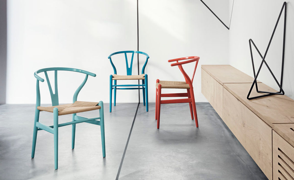 ch24 wishbone chair color