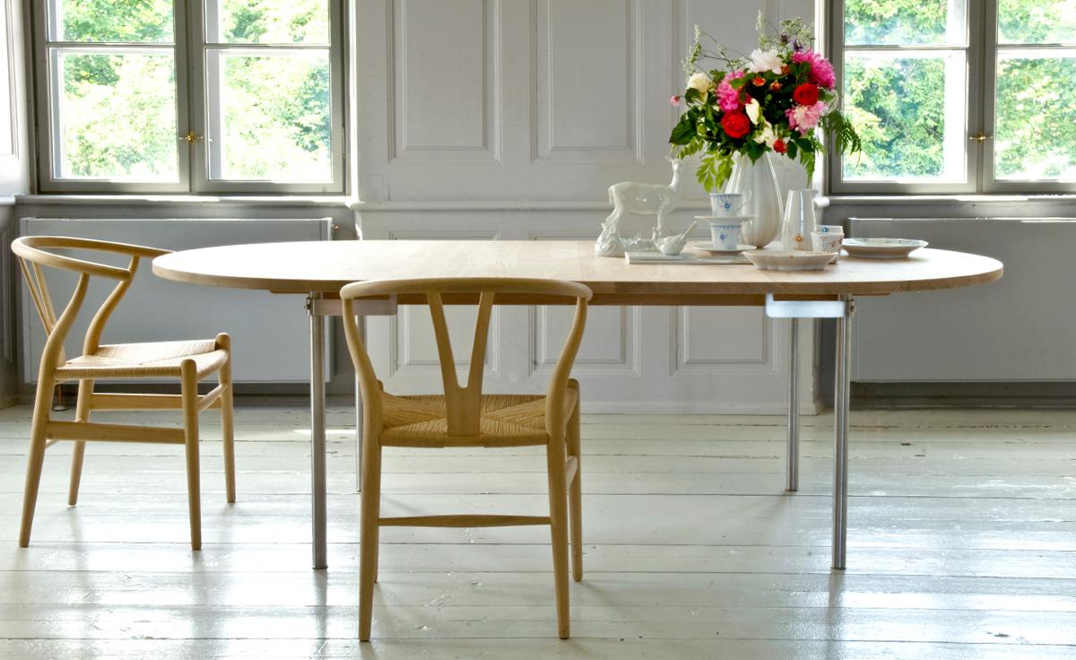 Ch24 Wishbone Chair   Wood
