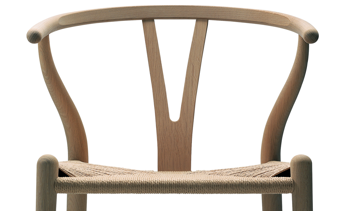 Ch24 Wishbone Chair Wood hivemoderncom