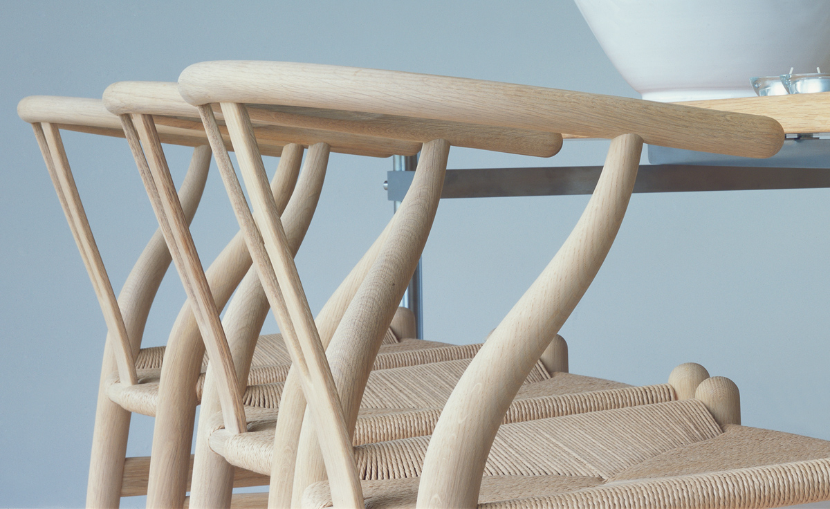 Ch24 Wishbone Chair   Wood