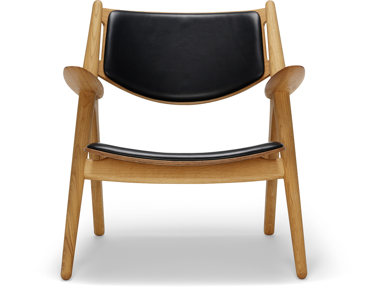 Ch28p Upholstered Easy Chair Hivemodern Com