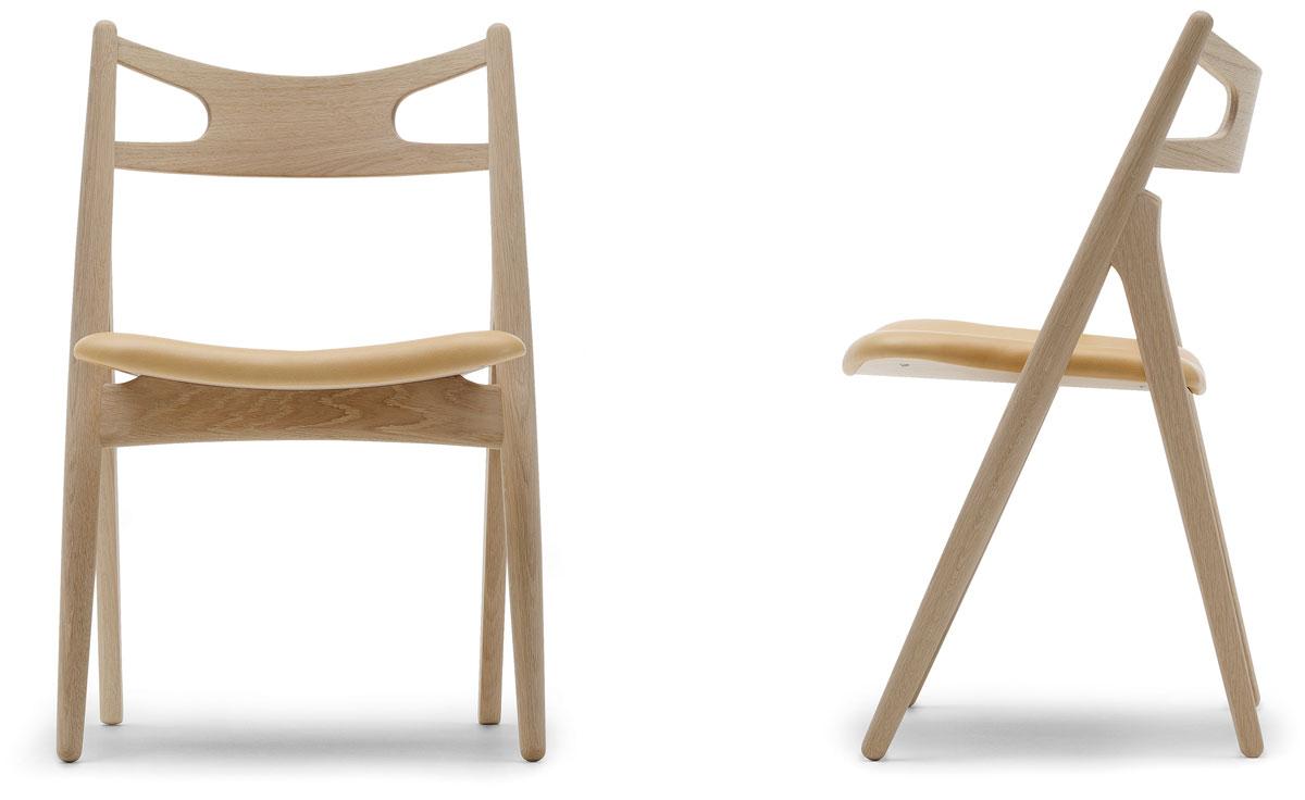Carl Hansen Chairs ch29 sawbuck chair - hivemodern