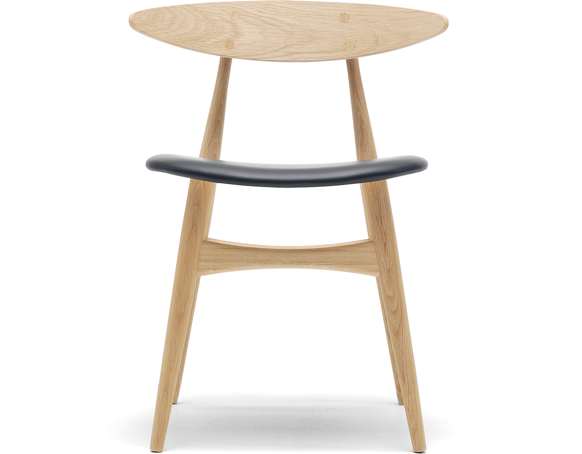 Ch33 Dining Chair With Upholstered Seat