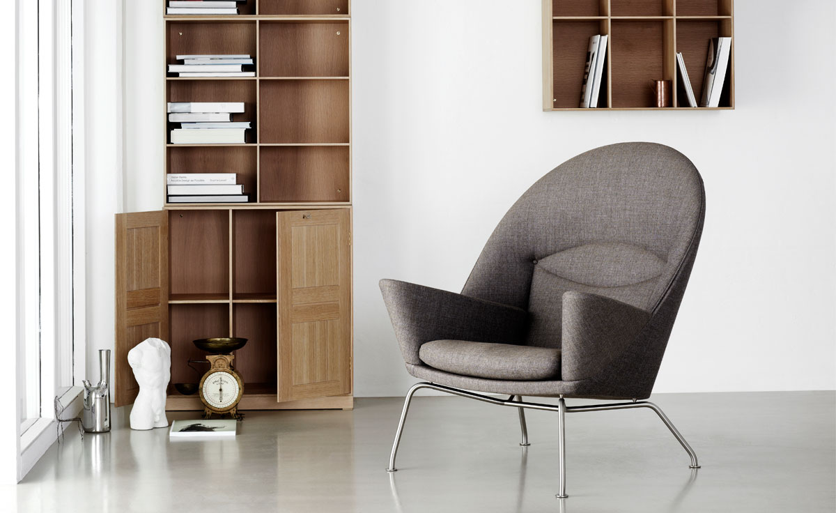 Ch468 Oculus Lounge Chair Amp Ch446 Footrest Hivemodern Com