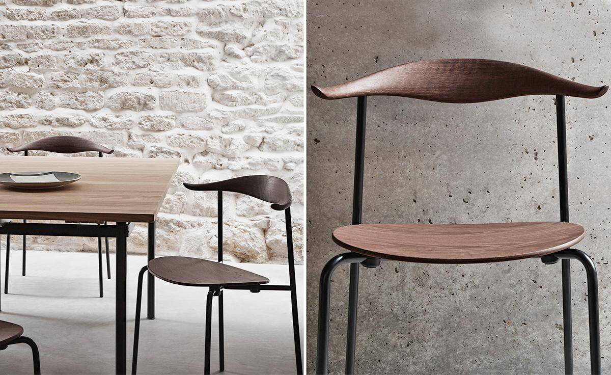Hans Wegner Ch88t Stacking Chair Hivemodern Com