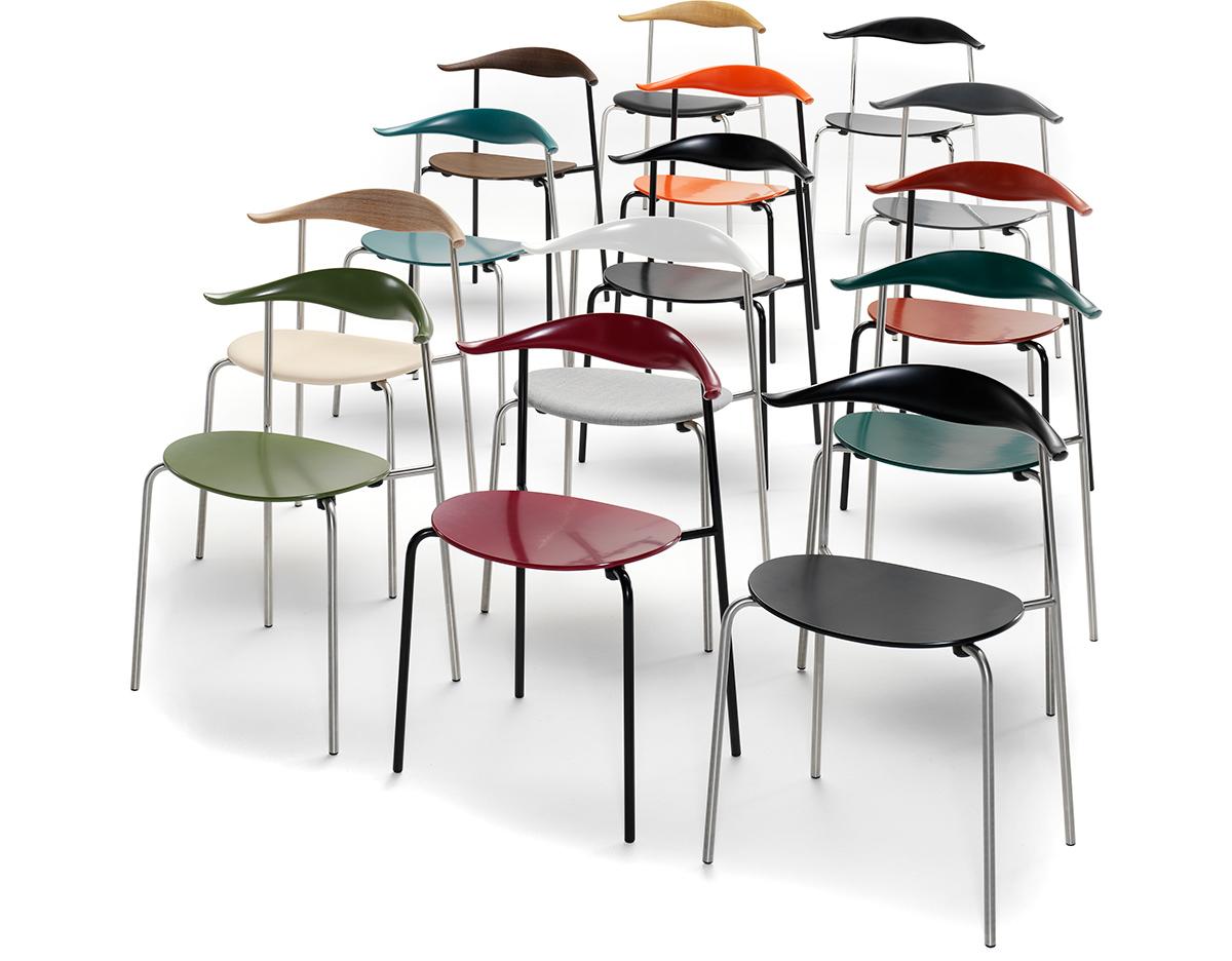 Ch88 Chair Hans Wegner Ch88 Stacking Chair - hivemodern.com