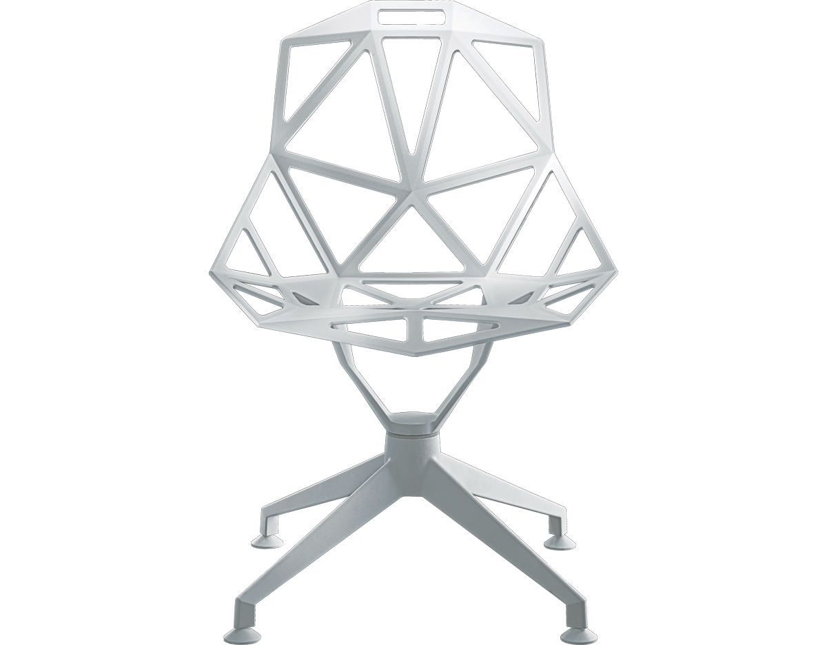 Magis Chair One With 4 Star Base Hivemodern Com