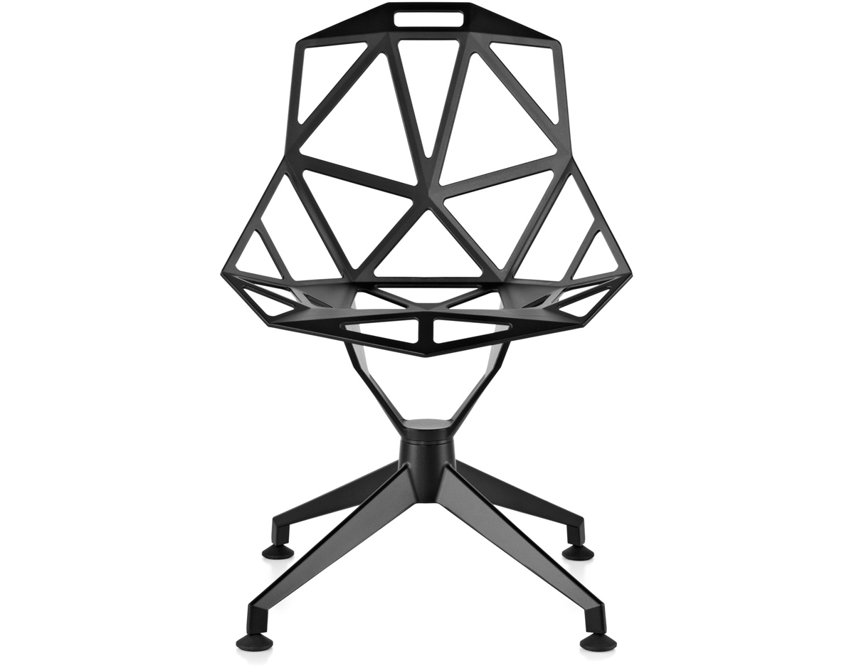 Magis chair one with 4 star base for Magis chair one