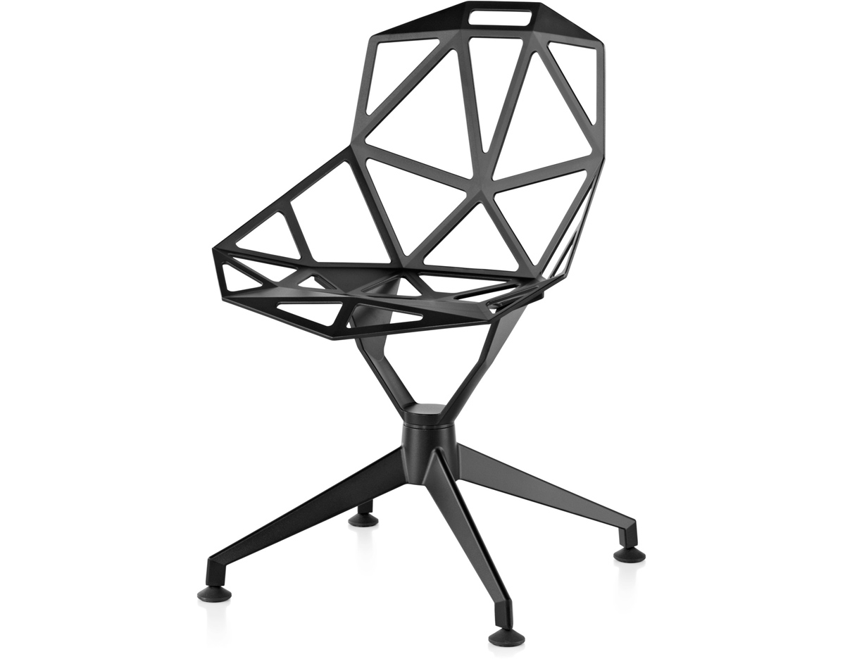 Chair one with 4 star base for Chair one grcic