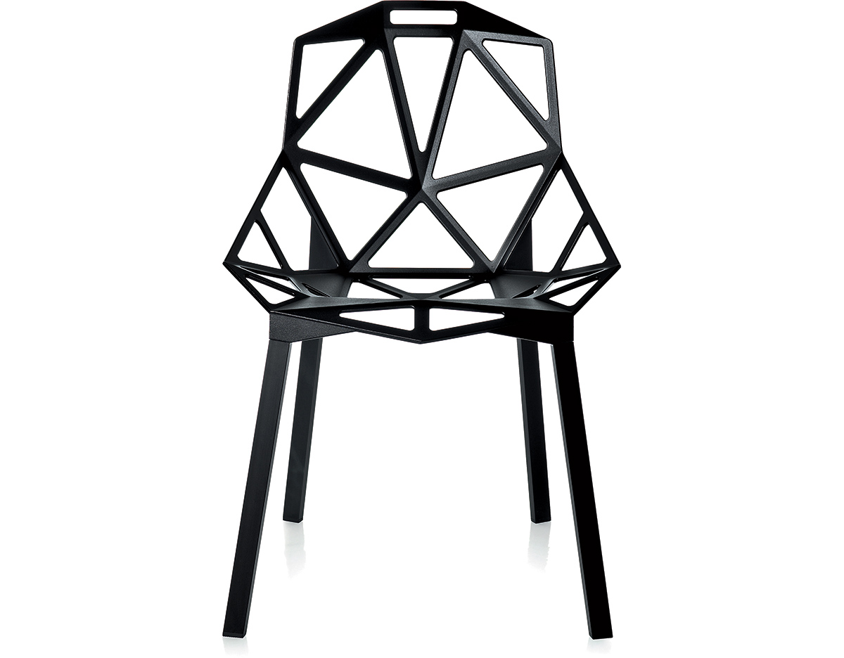 magis chair one with stacking base two pack