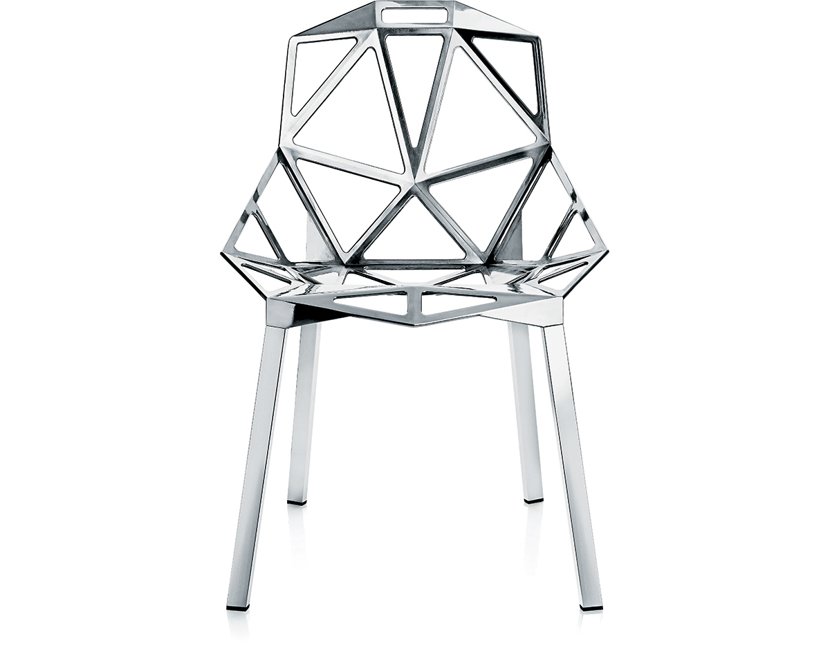 Magis chair one with stacking base two pack for Magis chair one preisvergleich