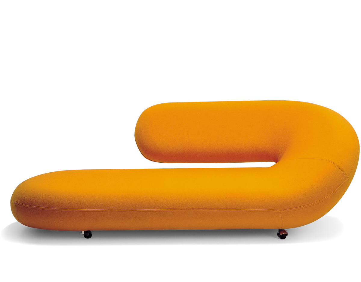 chaise longue - Chaise Orange