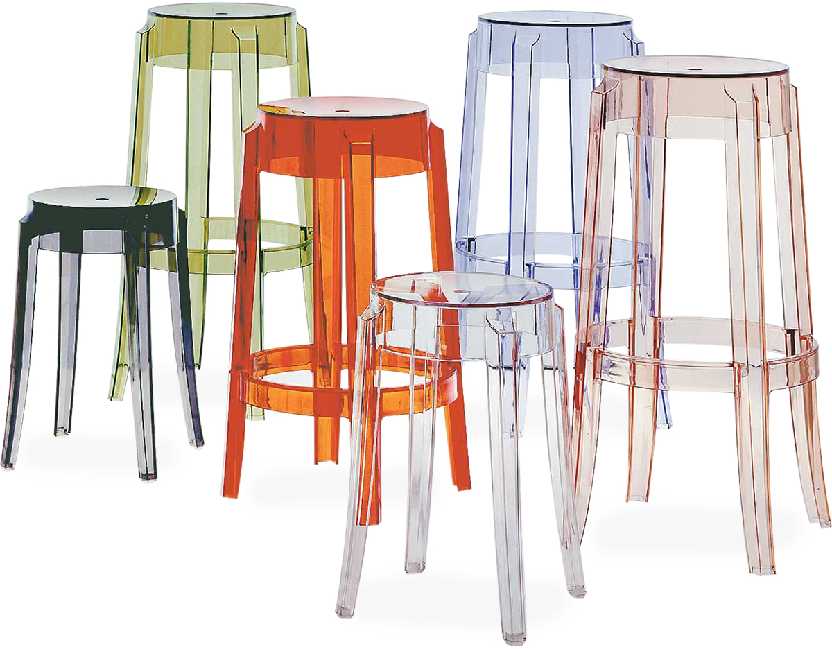 Charles Ghost Stool 2 Pack Hivemodern Com