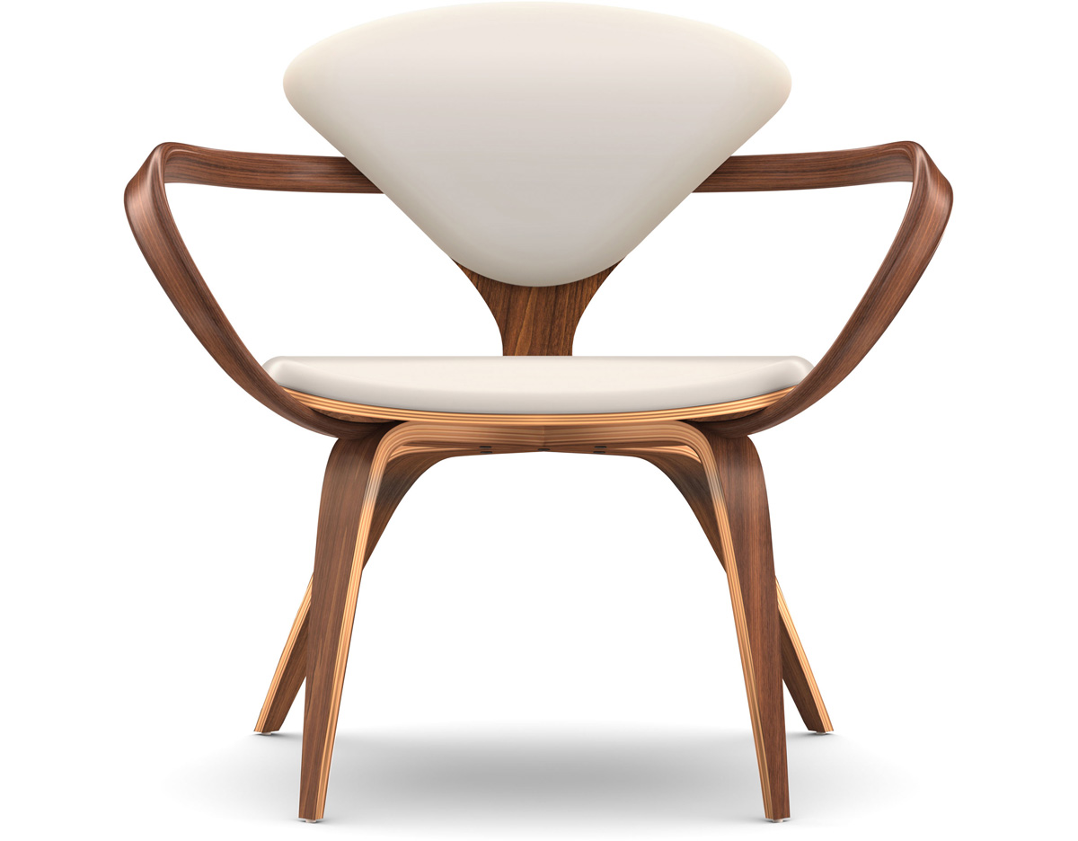 Cherner Lounge Arm Chair Hivemodern Com