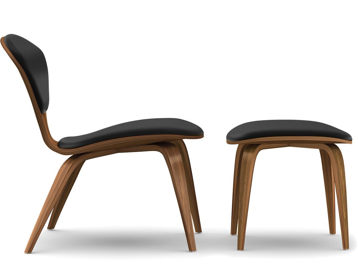 Cherner Lounge Side Chair Amp Ottoman Hivemodern Com