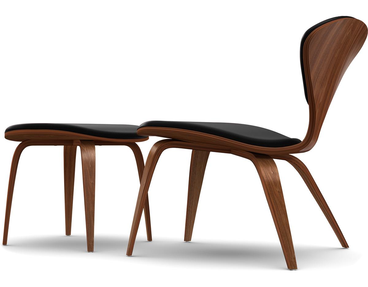 Marvelous Cherner Lounge Side Chair Ottoman Creativecarmelina Interior Chair Design Creativecarmelinacom