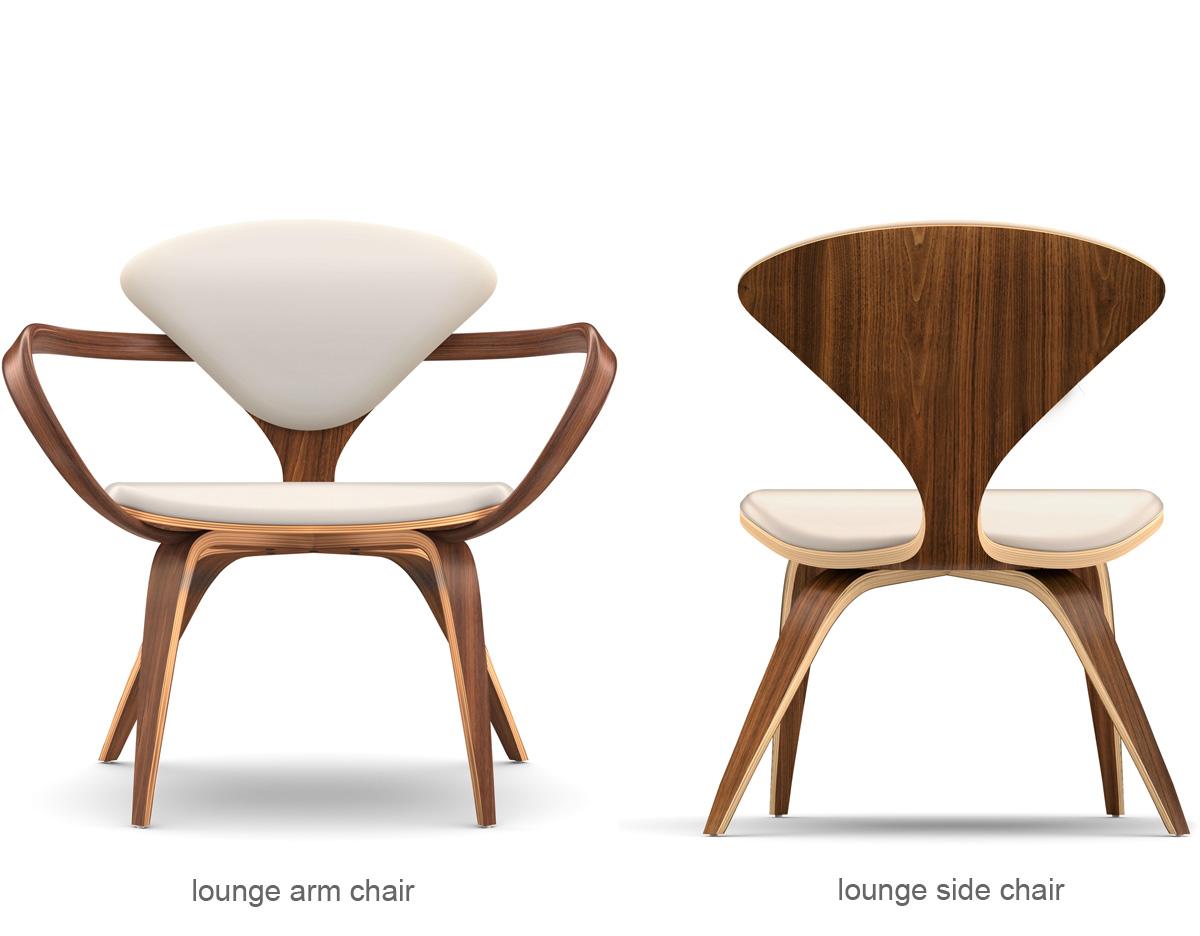Enjoyable Cherner Lounge Side Chair Ottoman Creativecarmelina Interior Chair Design Creativecarmelinacom