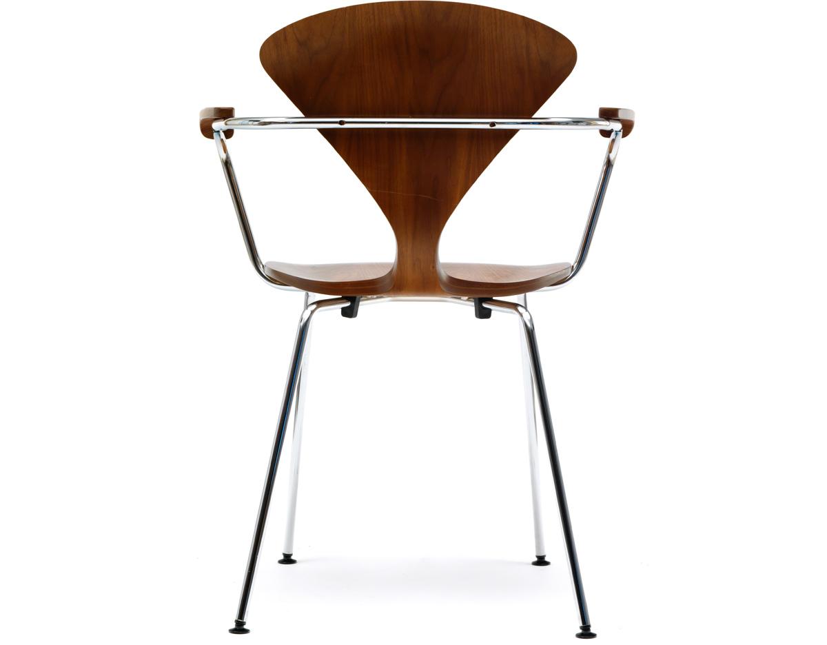 Cherner Metal Leg Arm Chair