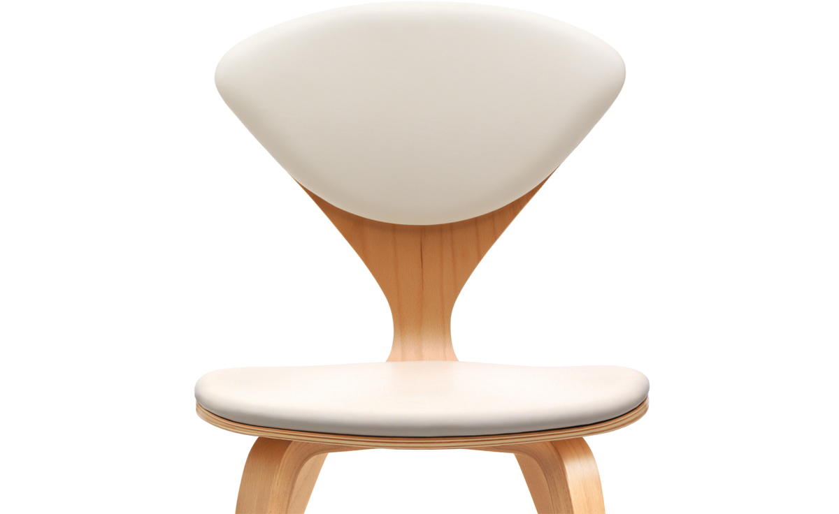 overview ... - Cherner Side Chair With Upholstered Seat & Back - Hivemodern.com