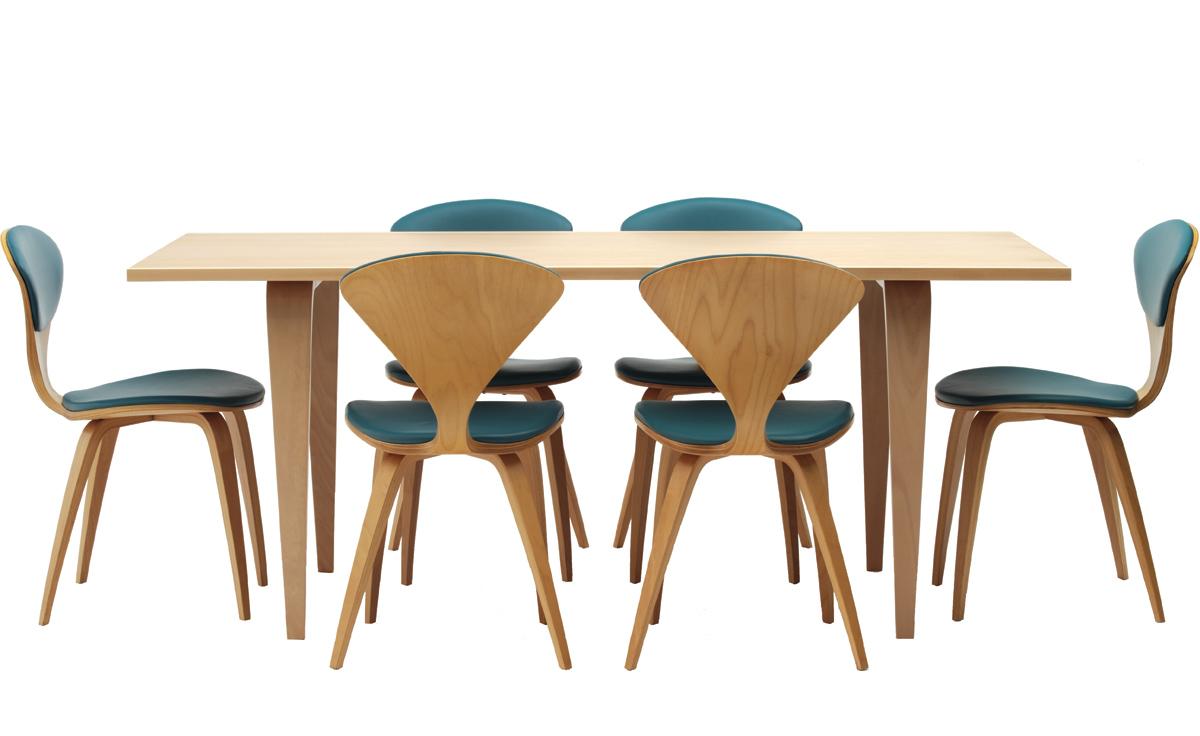 Cherner Rectangular Table Hivemoderncom - Cherner dining table