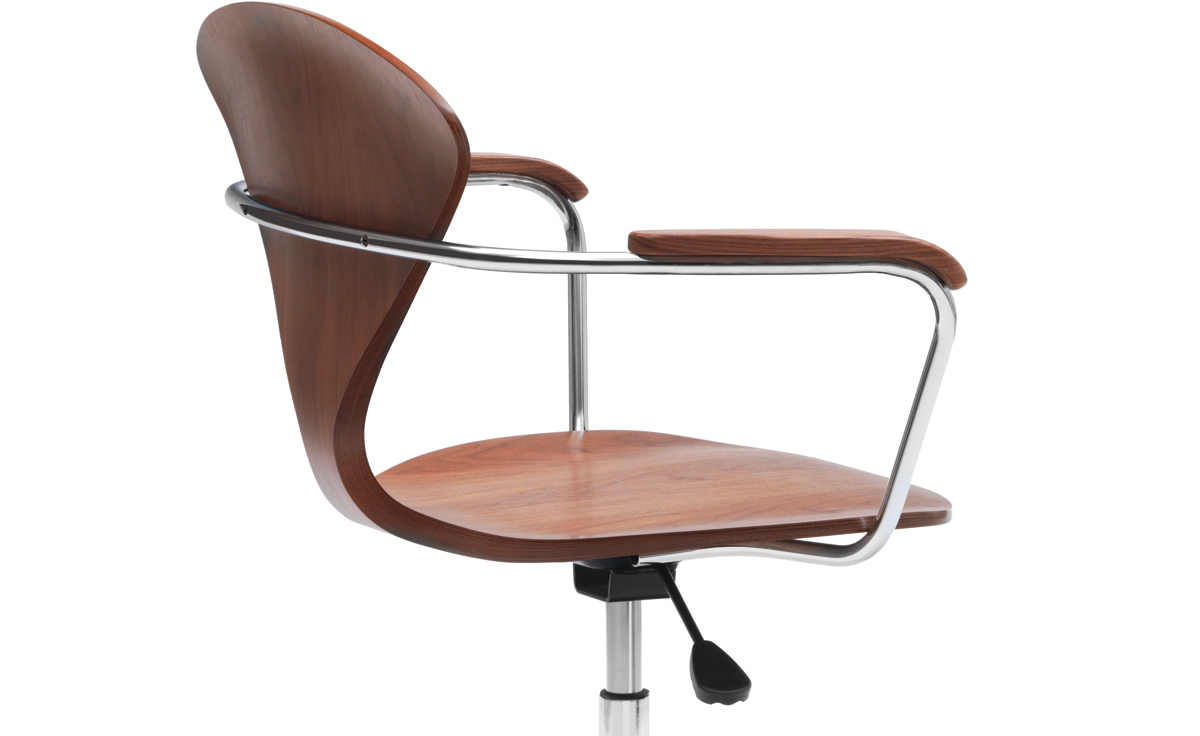 Charming Cherner Task Chair With Arms