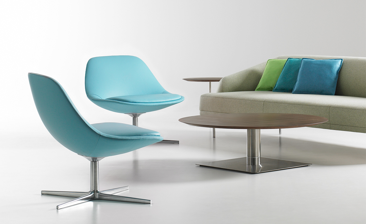 Chiara lounge chair for Contemporary lounge furniture