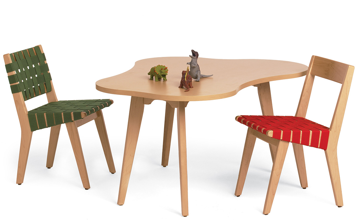 Childs risom amoeba table hivemodern overview geotapseo Choice Image