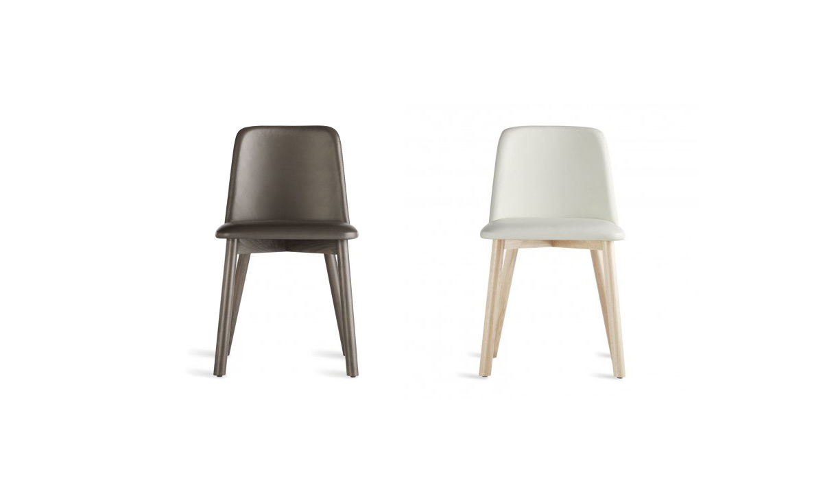 Chip Leather Dining Chair Hivemodern Com