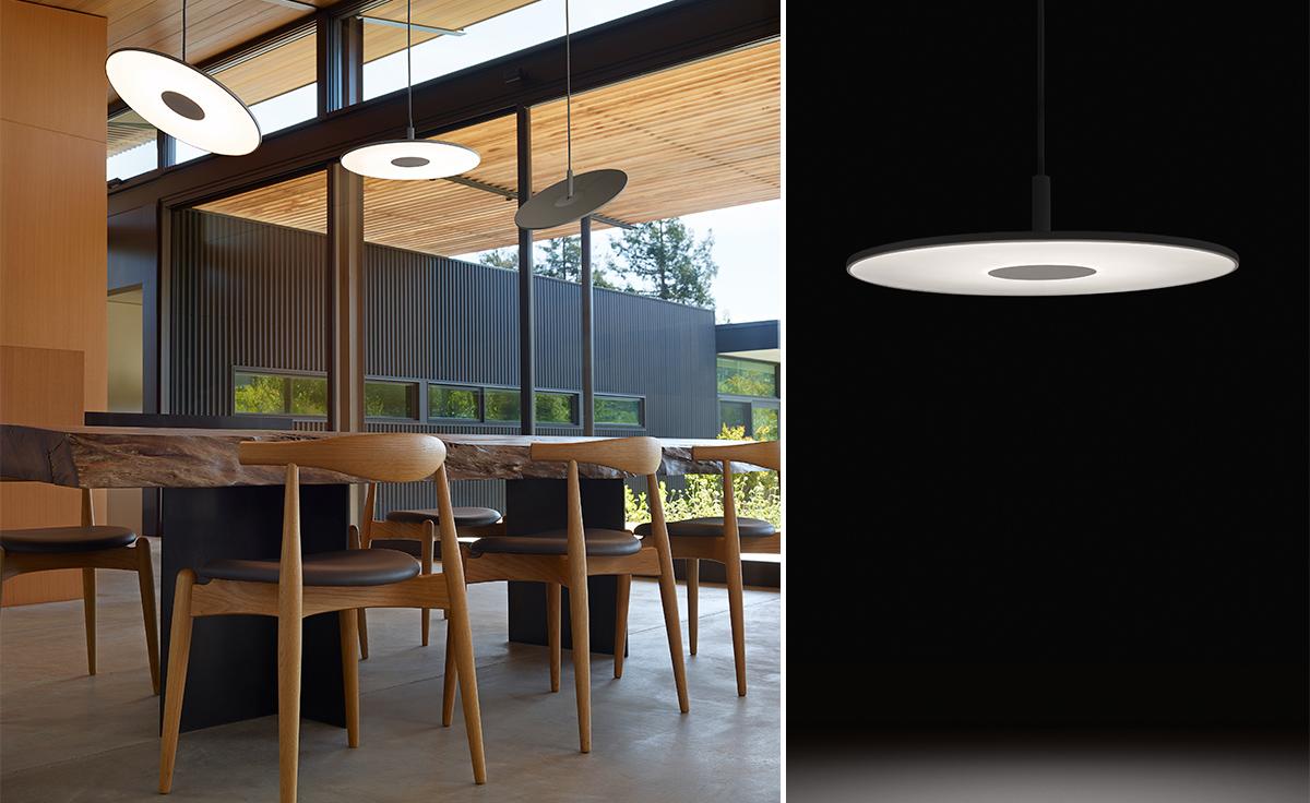 Circa Lighting Drum Pendant : Circa led pendant lamp hivemodern