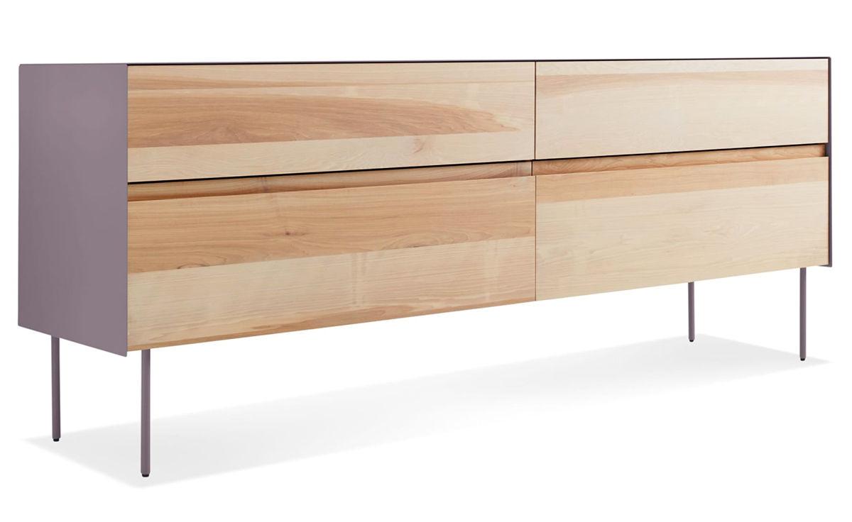 Clad 4 Drawer Dresser Hivemodern Com